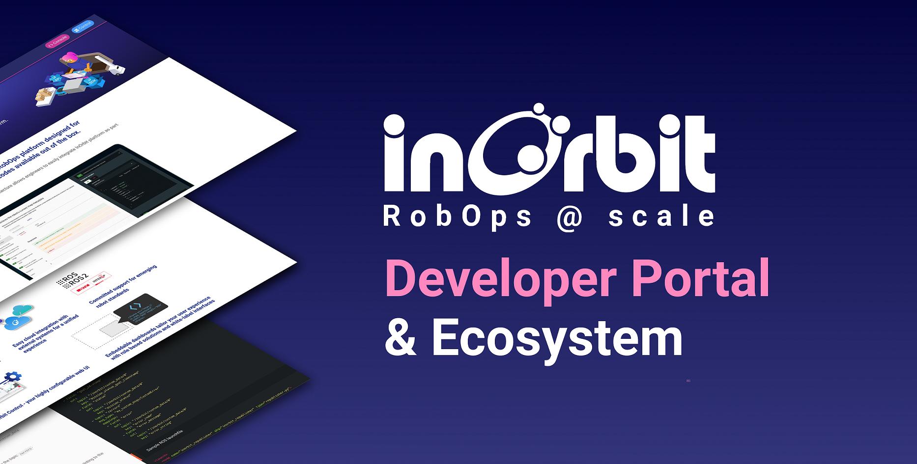 InOrbit Developer Portal and Ecosystem header