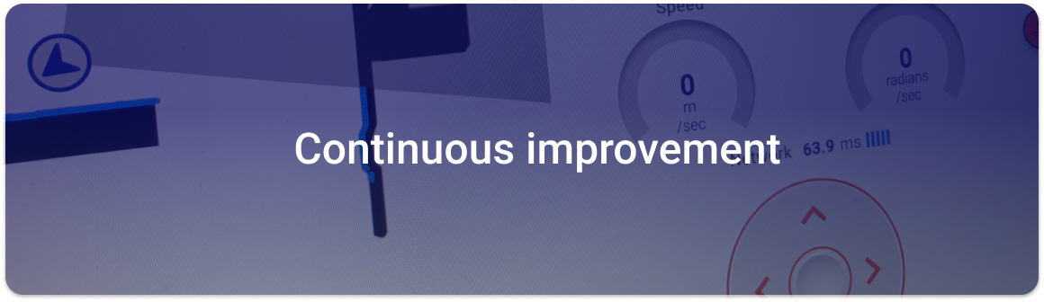 product key area_continuous improvement